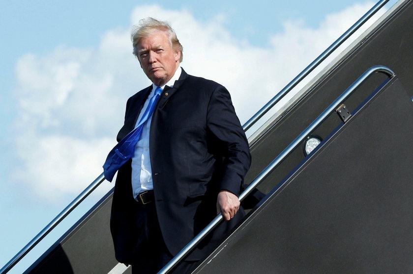 Donald Trump przyleci do Polski