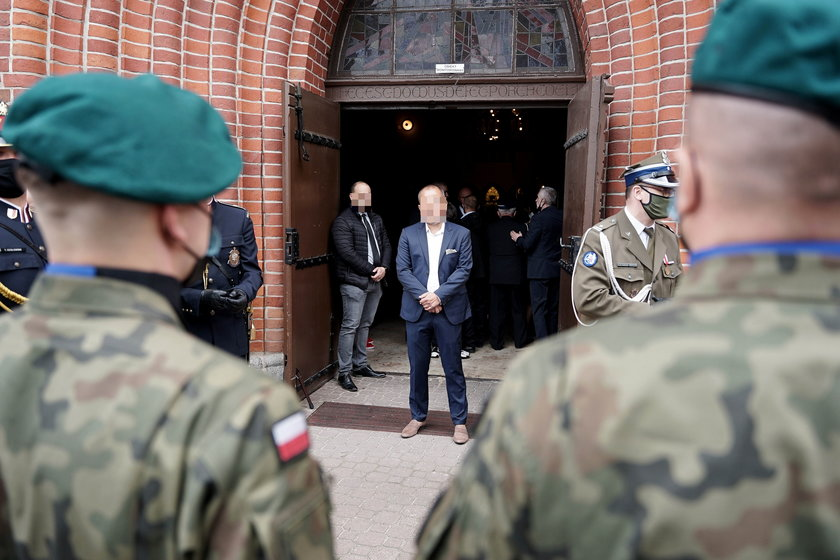 Bliscy pożegnali posła PiS Jerzego Wilka