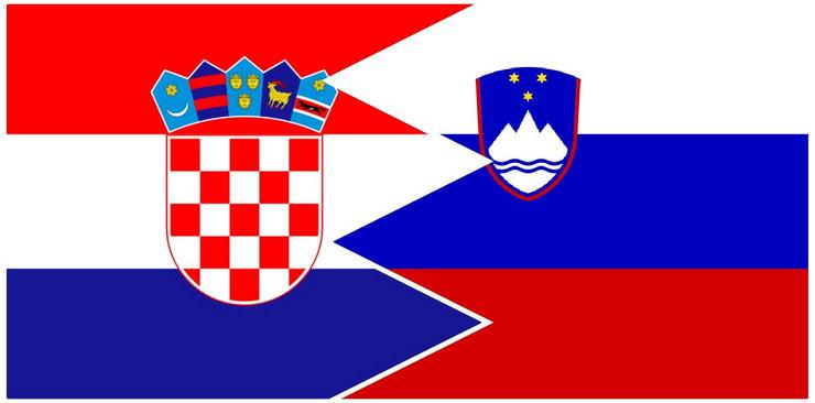 Kolaž hrvatska slovenija