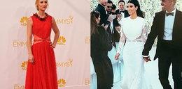 Claire Danes na Emmy w sukni ślubnej Kim Kardashian?