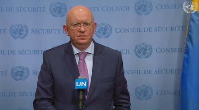 Vasilij Nebenzja, ambasador Rusije u Savetu bezbednosti UN