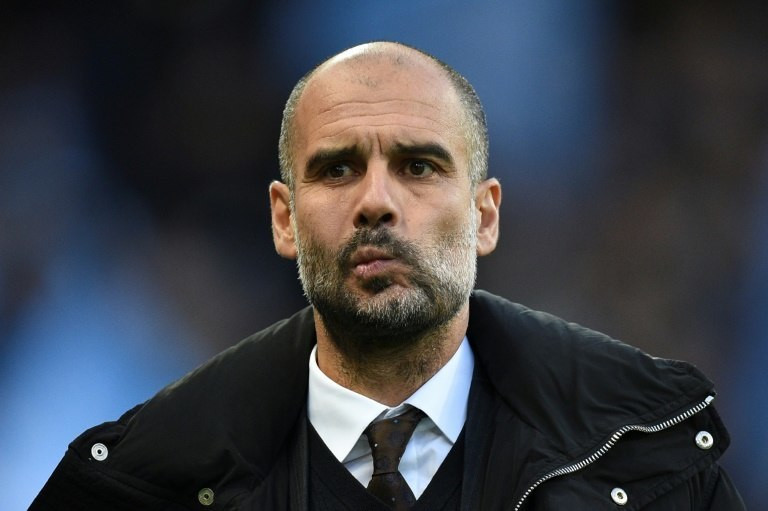 """""""We can accept the opponent scoring one goal, but we didn't score enough goals,"""" Manchester City manager Pep Guardiola said"""