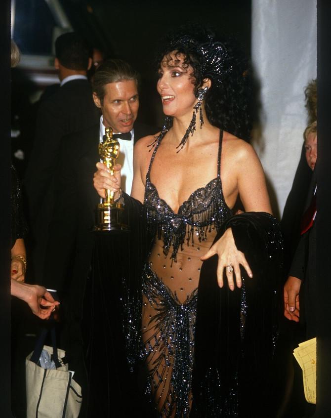 Šer na dodeli Oskara 1987. u Los Anđelesu