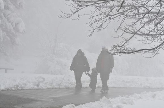 Stiće sneg u Srbiju