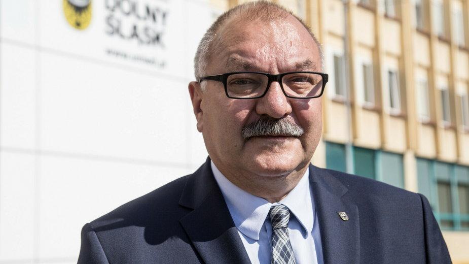 Marszałek województwa dolnośląskiego Cezary Przybylski