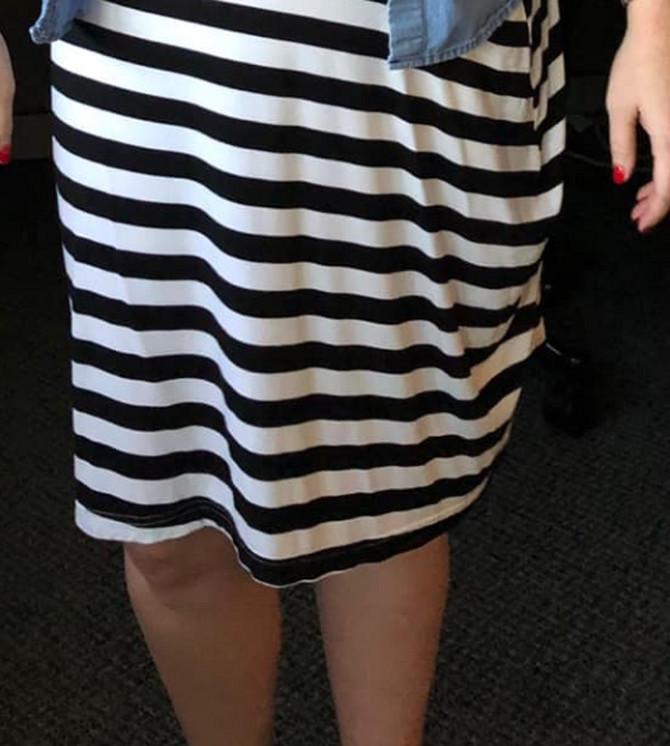 Mislila je da je obukla suknju