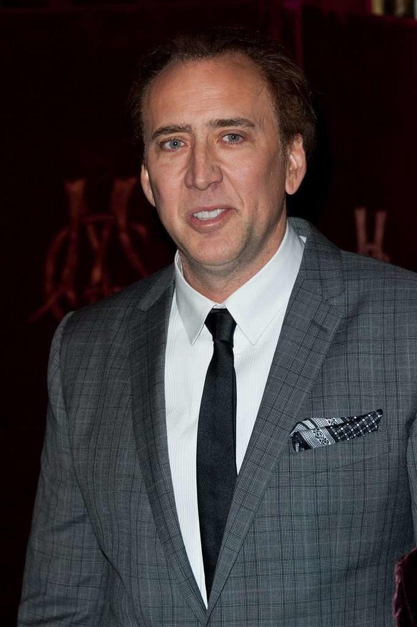 Nicholas Cage figura woskowa
