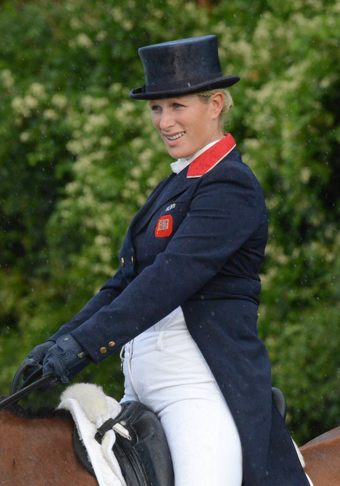 Zara Phillips na sportowo