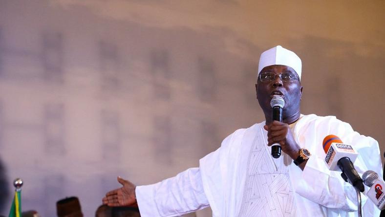 Atiku Abubakar is one of the favourites to win the February 16 presidential election [Twitter/@atiku]