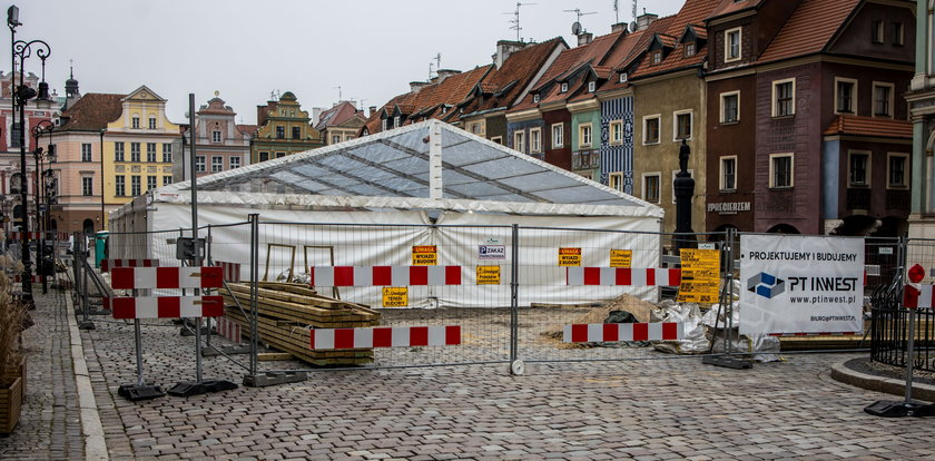 Kiedy wreszcie wyremontują Stary Rynek?! Restauratorzy załamani.