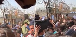 """Zdesperowane matki przerzucają dzieci przez druty kolczaste, by wydostać je z afgańskiego piekła. """"Nie ma żołnierza, który by nie płakał"""""""