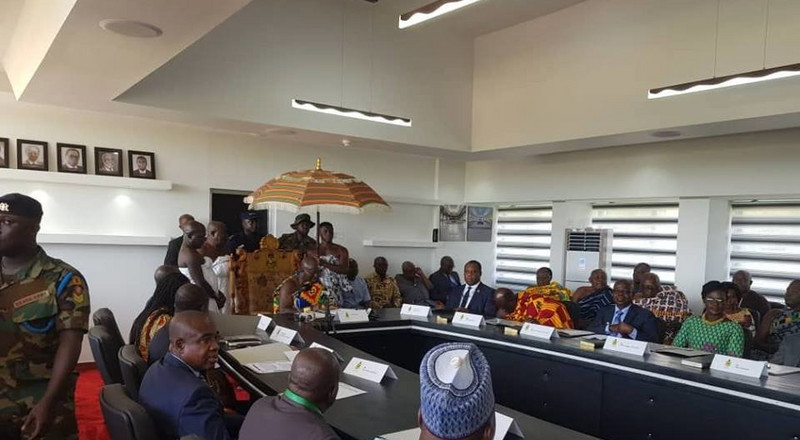 Asantehene swears in reconstituted Council for KNUST