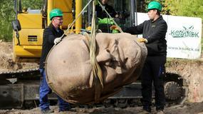Głowa Lenina odkopana w berlińskim lesie po 24 latach