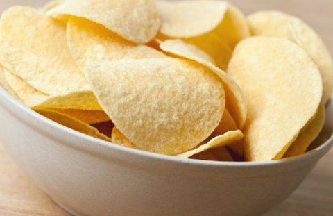 Potato chips are cooked in hydrogenated oils that influences belly fat [The Daily Meal]