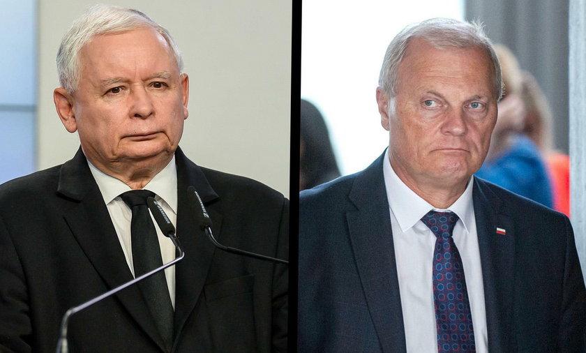 Jarosław Kaczyński i Lech Kołakowski