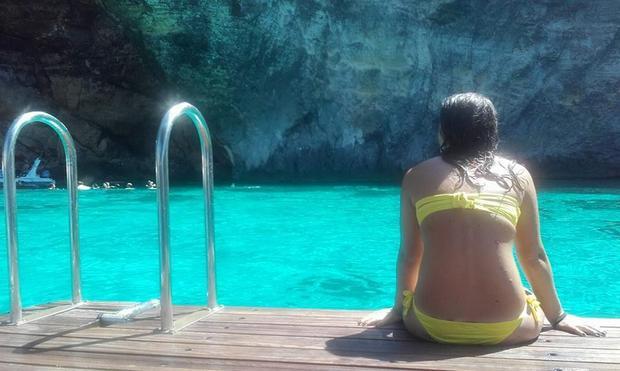 Crystal lagoon, wyspa Comino