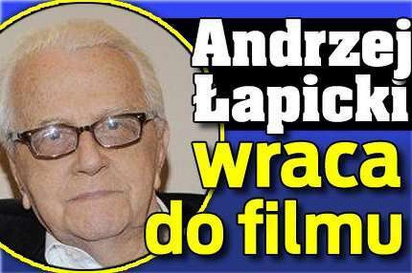 Łapicki wraca do filmu po 11 latach