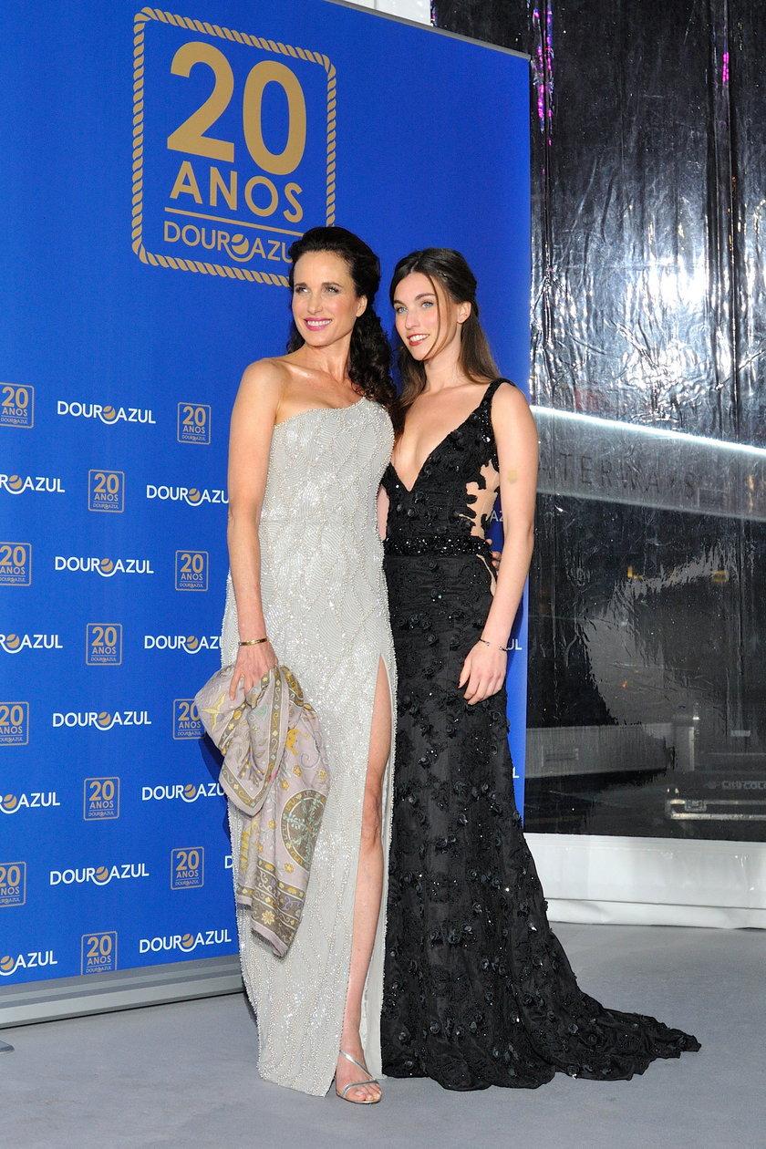 Andie MacDowell z córką Sarah