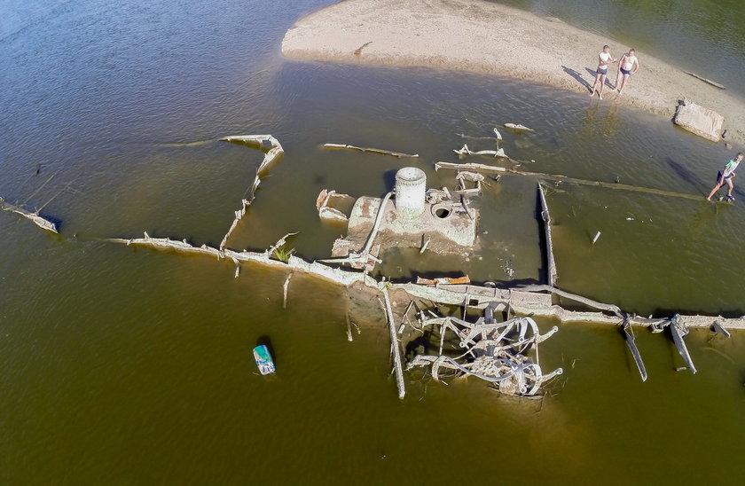 Parowiec z XIX wieku znaleziony w rzece Bug. Archeolodzy chcą go wydobyć