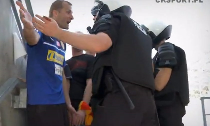Małkowski kłóci się z policją