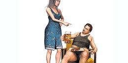 Czy tak wciąż wygląda mina twoje żony?