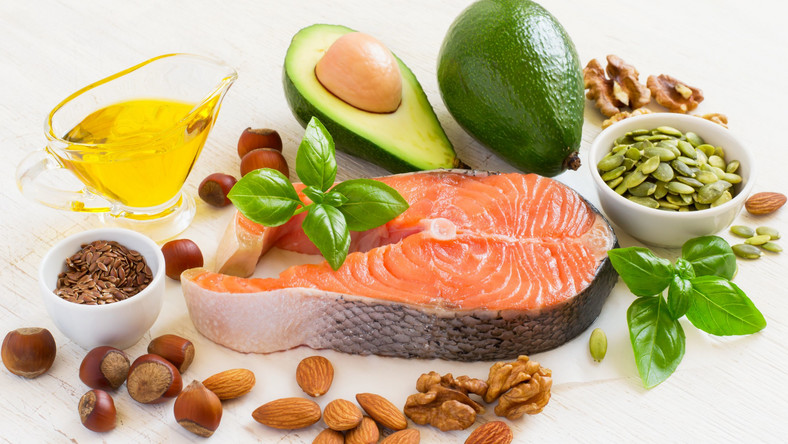 Produkty zawierające tłuszcz