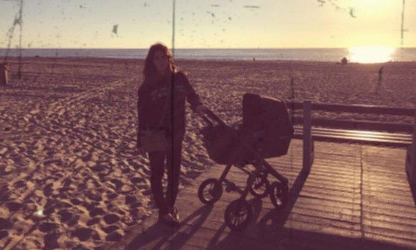 Pierwsze zdjęcie Weroniki Rosati z córką