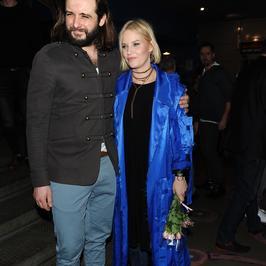 Roma Gąsiorowska i Michał Żurawski na premierze spektaklu. Uwagę skradli jednak...