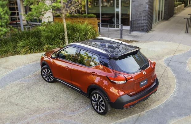 Na rynku amerykańskim Nissan Kicks dostępny będzie w kilku wersjach wyposażenia. Silnik i skrzynia CVT będą zaś takie same