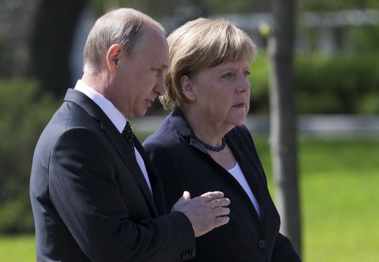 Putin i Merkelova