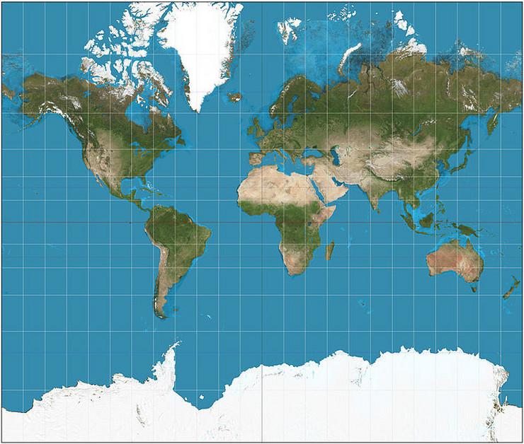 svet mapa