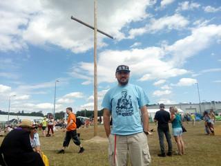 O. Michał Legan podczas Przystanku Woodstock: Tu jest Kościół moich marzeń [WYWIAD]