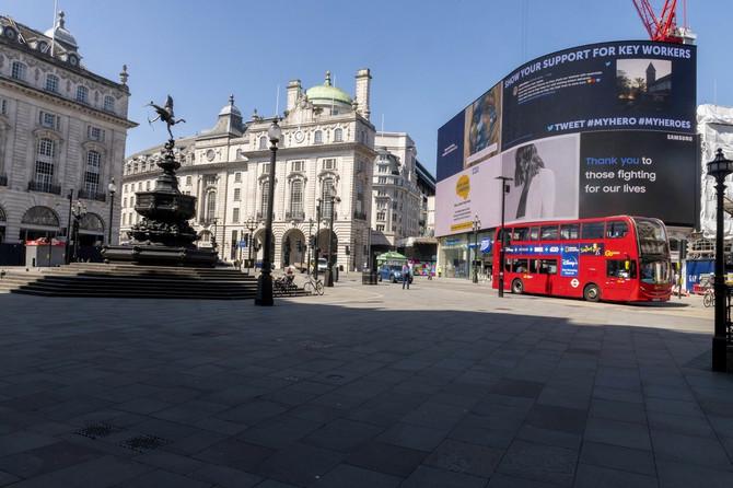 London pre nedelju dana