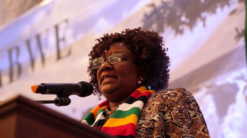 Zimbabwe Tourism minister Prisca Mupfumira. (YouTube)