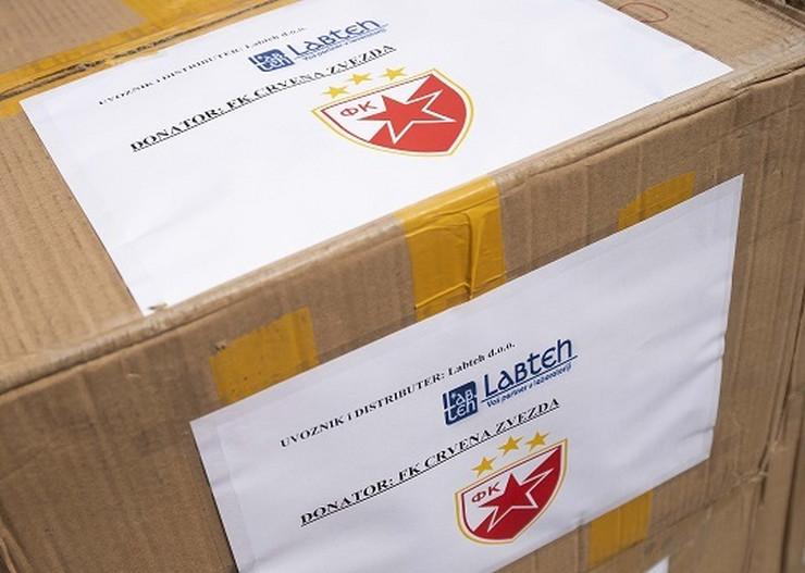 Donacija Crvene zvezde Infektivnoj klinici
