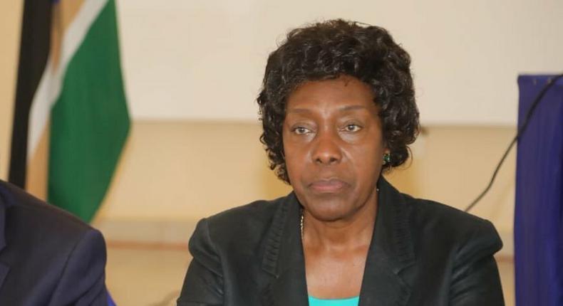 Kitui Governor Charity Ngilu breaks down while testifying in murder case of former Mayor Martha Mwangangi