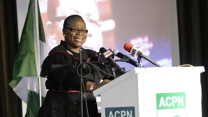 Image result for Ezekwesili resigns from ACPN, gives reasons