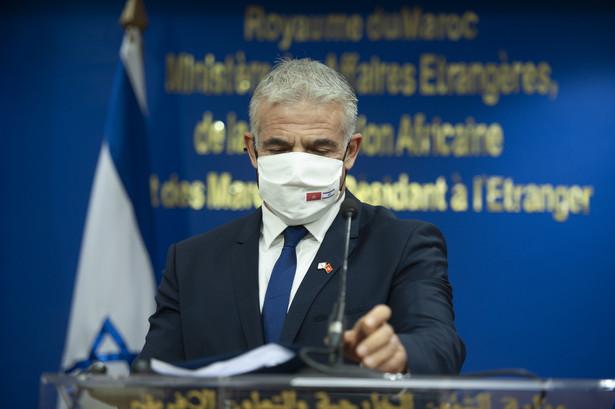 Szef izraelskiego MSZ, Yair Lapid