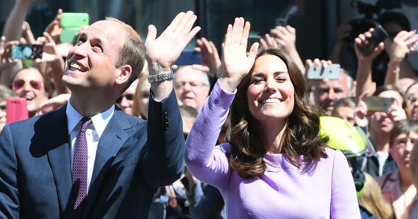 Jedna z najpotężniejszych par millanialsów to książę William i jego żona Kate