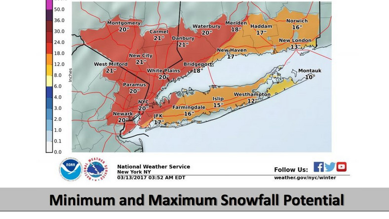snow forecast nyc