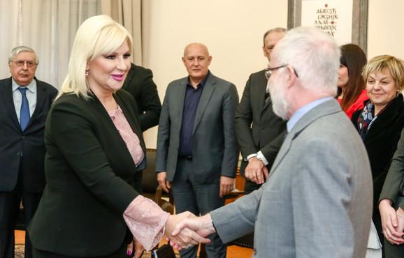 Zorana Mihajlovi i Denis Kif