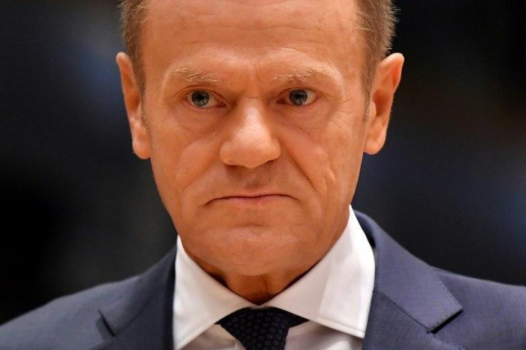 EU President Donald Tusk, a former Polish prime minister, has declined an invitation to the ceremonies in France to be in Warsaw amid speculation he may run for Poland's presidency in 2020