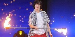 Ognisty pokaz 18-latka w Tylko taniec