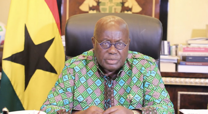 Anibrɛ ɛnsɔ gya: The subtle message of Nana Addo's fashion choice for coronavirus address