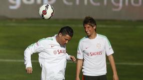Zabawne zachowanie C. Ronaldo na treningu Królewskich