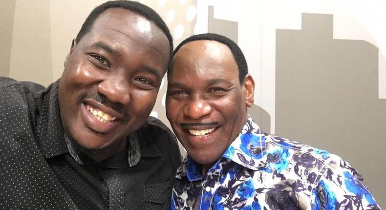 Willis Ruburu with Ezekiel Mutua. Ezekiel Mutua's reaction after netizens launched campaign against Citizen's 10over10