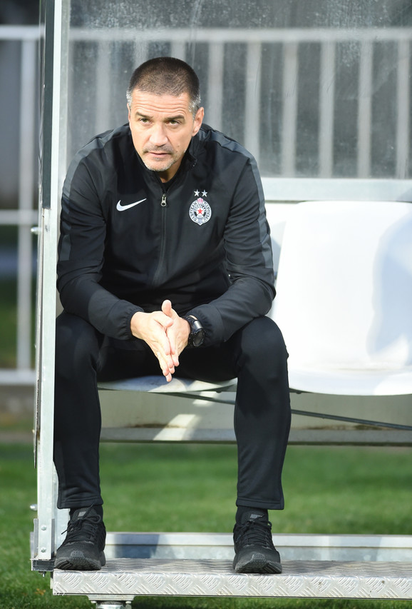 Trener crno-belih Zoran Mirković