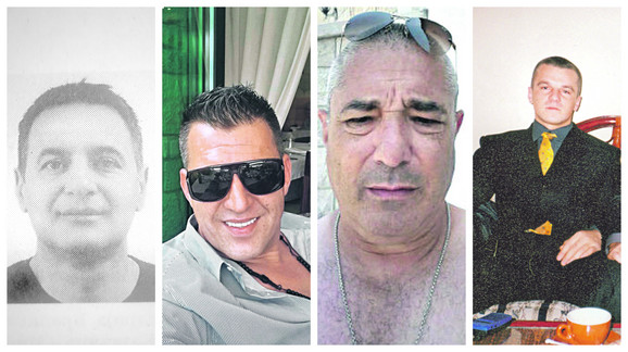 Ubijeni Srbi: Darko Kulić, Đorđe Mihaljević, Gorgije Darmanović, Milan Đuričić Miki
