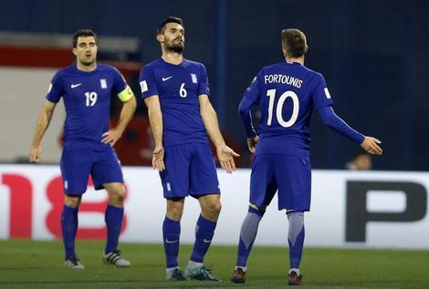 Očaj fudbalera Grčke