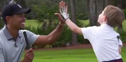 Młody jednoręki golfista spotkał się z idolem!